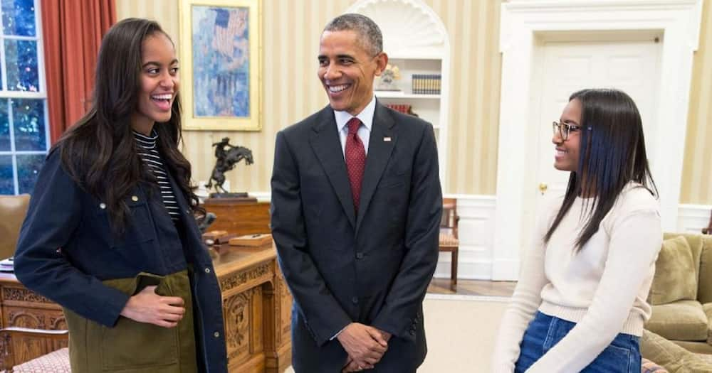 Barack Obama and Michelle marked Malia's 23rd birthday online.
