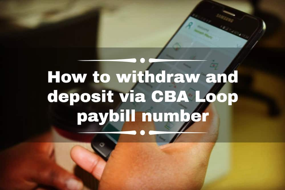 CBA Loop paybill number