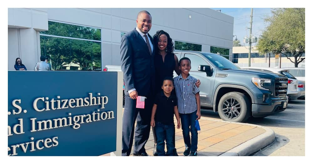 Nigerian man whose parents borrowed KSh 169k to send him to the US wins, becomes citizen