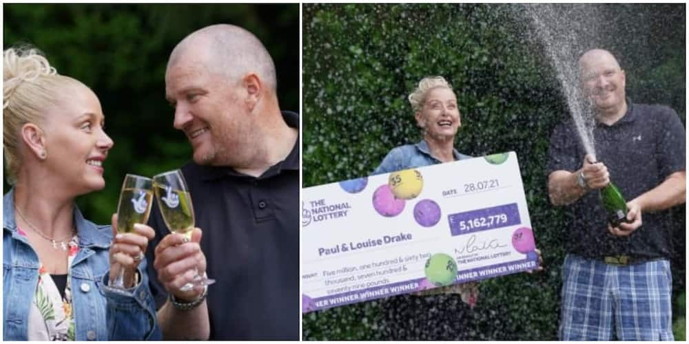 Man quits work as a supermarket worker after finding out he won a lottery of over KSh 500 million.