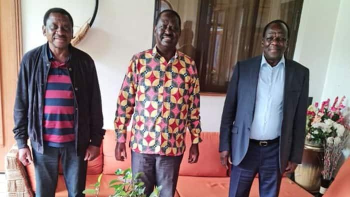 Utakuwa Unashusha Hadhi yako Iwapo Utawania Ugavana, Oparanya Amwambia Orengo