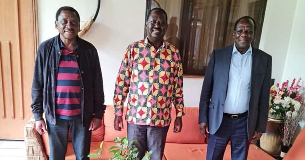 Raila Odinga Hosts Oparanya, Orengo Amid ODM Fallout Speculations