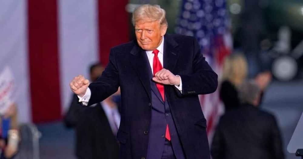 Incumbent US President Donald Trump in a past event. Photo: BBC