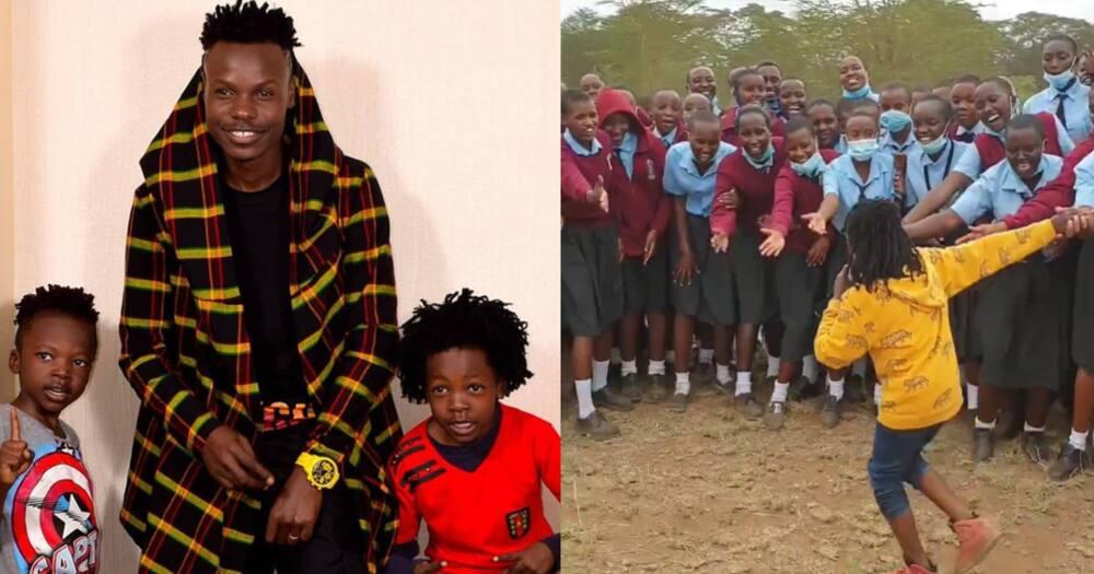 Eko Dydda Proud After Son's Stirring Rap Performance at High School