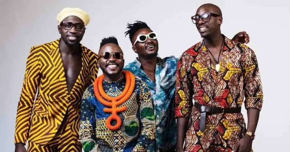 Sauti Sol is an award-winning Kenyan afro-band.