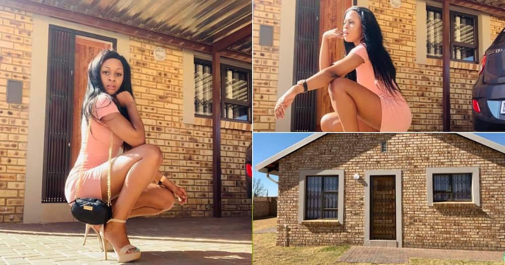 """Woman gushes about getting first house at 22: """"Grateful to God"""""""