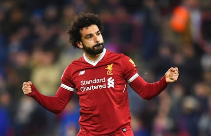 Liverpool star Mo Salah shows off 6 pack that makes Ronaldo's look like child's play