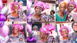 Moving Video Shows Moment Granny is Surprised on Her 90th Birthday, Gets Emotional