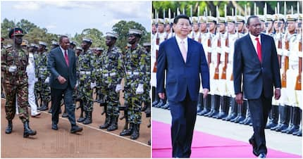 Uhuru silently flies back after 4 day-long trip to China