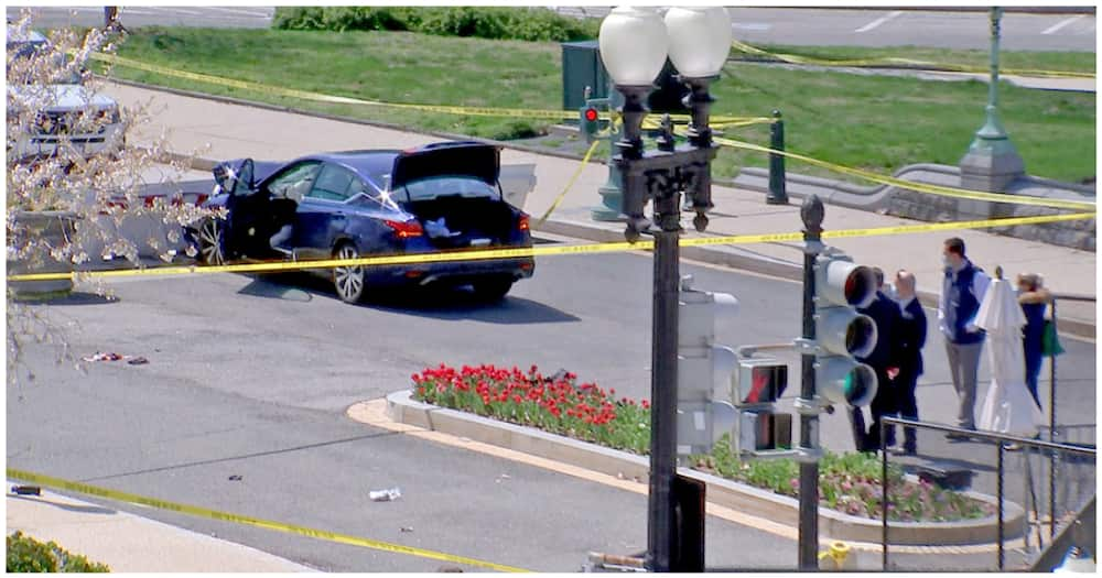 US Capital Under Lockdown after Suspect Rams Vehicle into Barricade, Injures Police Officers