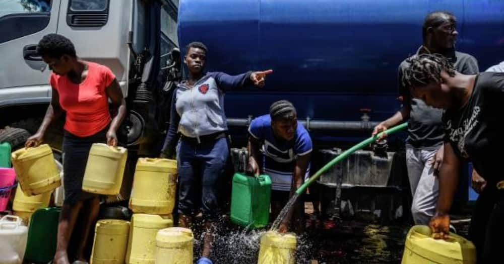Water is a scarce commodity in most informal urban settlements in Kenya.