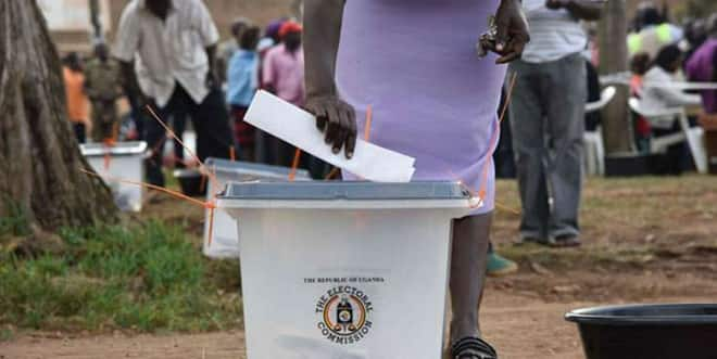 Uganda elections: large voter turnout at opposition strongholds as polling stations revert to manual voting