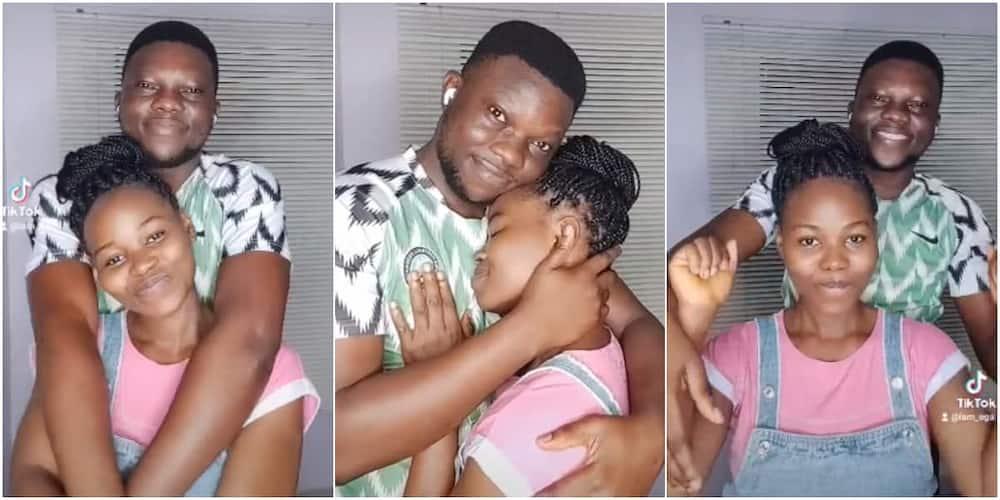Emmanuel Olatunji Ega and his wife.