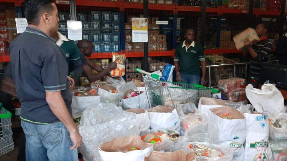 Good Samaritans raise funds, buy foodstuffs, toiletries for the needy in Huruma slums