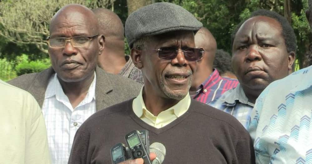 Former MP Musikari Kombo's brother buried in sitting position