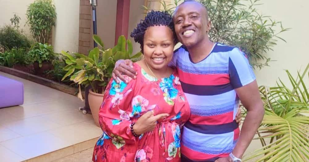 Mtangazaji Maina Kageni anaswa akimtamani Seneta Millicent Omanga