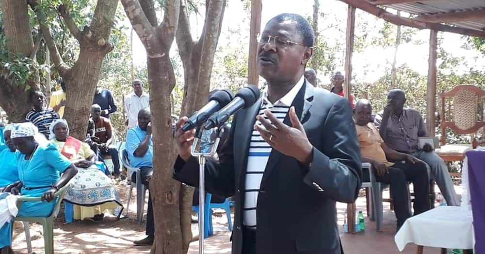 Kabuchai by-election: Wetang'ula decries voter bribery by UDA allied MPs