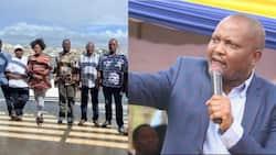'Kamati ya Mazishi': Moses Kuria Awatania Maina Kamanda na Wenzake Baada ya Kukutana na Raila