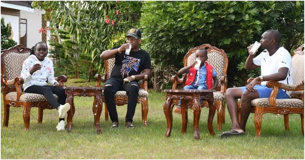 Mike Sonko Visits Oscar Sudi in Kapseret Despite Cessation of Movement Orders