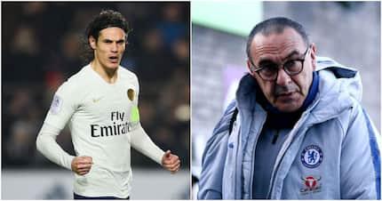 Chelsea boss Maurizio Sarri names his no.1 target to replace misfiring Morata and Giroud
