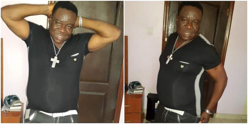 Nigerian actor Mr Ibu.