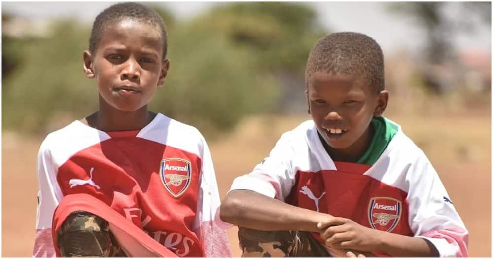 Lawrence Masira: Ozil sends Kenyan boy goodies after reopening of schools