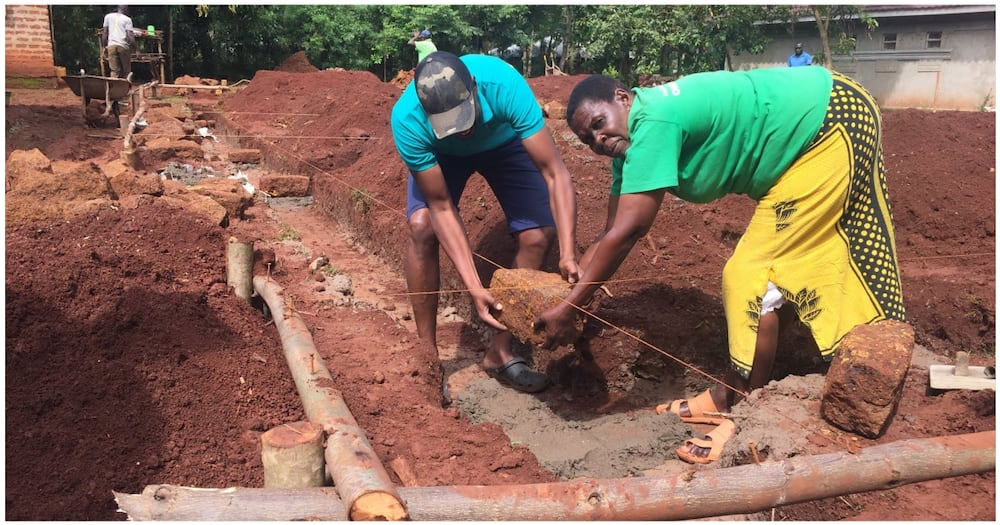 Busia Man Builds his Mother House after Being Inspired by Brother's Death
