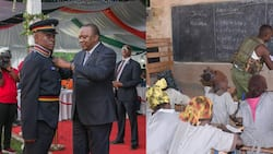 Rais Uhuru amtuza polisi wa Marsabit aliyejitolea kuwafunza wanafunzi hisabati