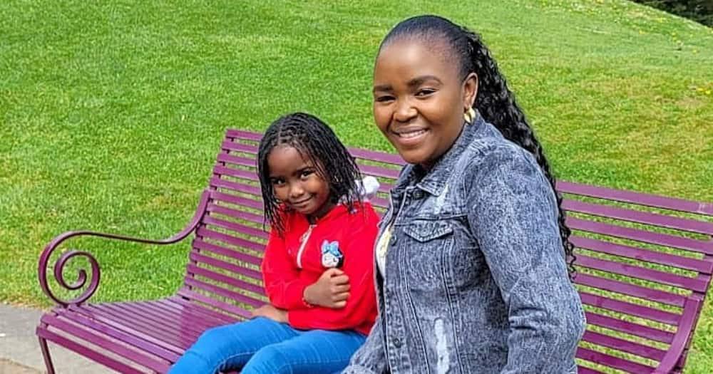 Kikuyu gospel artist Shiru Wa GP and her lovely daughter.