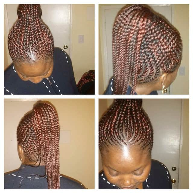 25 latest Ghana weaving shuku hairstyles in 2020 Tuko.co.ke
