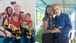 Ciru Njuguna: Beautiful Nakuru Woman Shares Cute Video Singing Justin Bieber Song to Mzungu Hubby