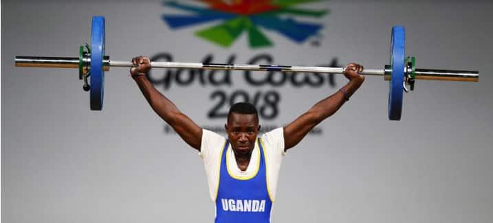 Julius Ssekitoleko, Ugandan weightlifter.