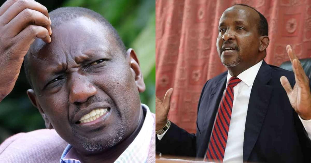 Image result for Ruto's Supporter! Aden Duale