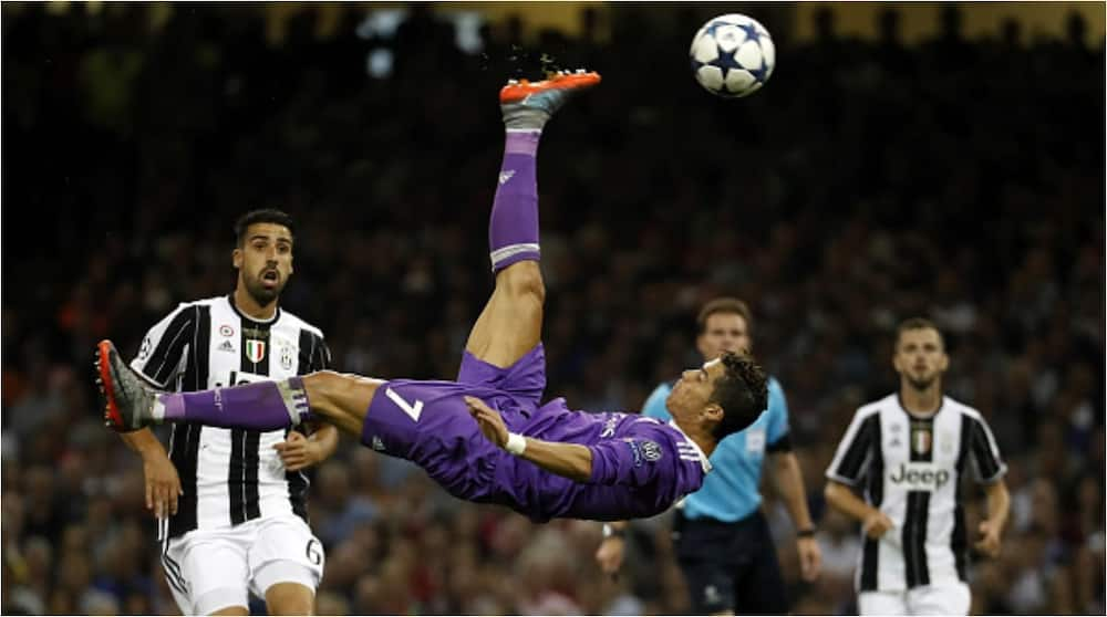 Bicycle-kick against Juve, lashing home from 40-yards vs Porto among top 10 iconic goals of incredible Cristiano Ronaldo