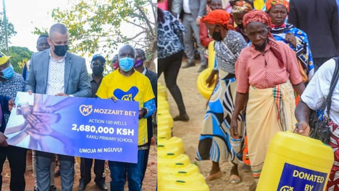 Makueni Residents Get KSh 2.6m Clean Water Point Courtesy of Gaming Firm Mozzart Bet