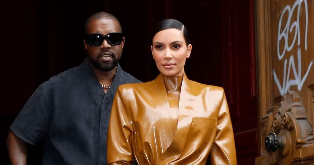 Kanye West and Kim Kardashian. Photo: Getty Images.