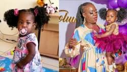 "Ruth Matete in Tears as Daughter Toluwa Takes First Steps: ""Nimelia Kaa Fala"""