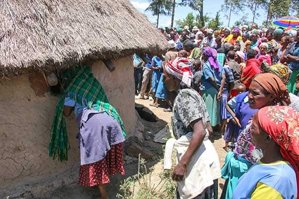 Bomet man strangles three children to death after row with wife, attempts suicide