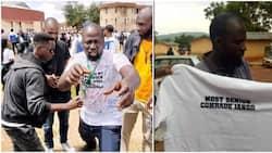 Jango: Most Senior Comrade in Nigeria's University of Jos Finally Graduates after 13 Years