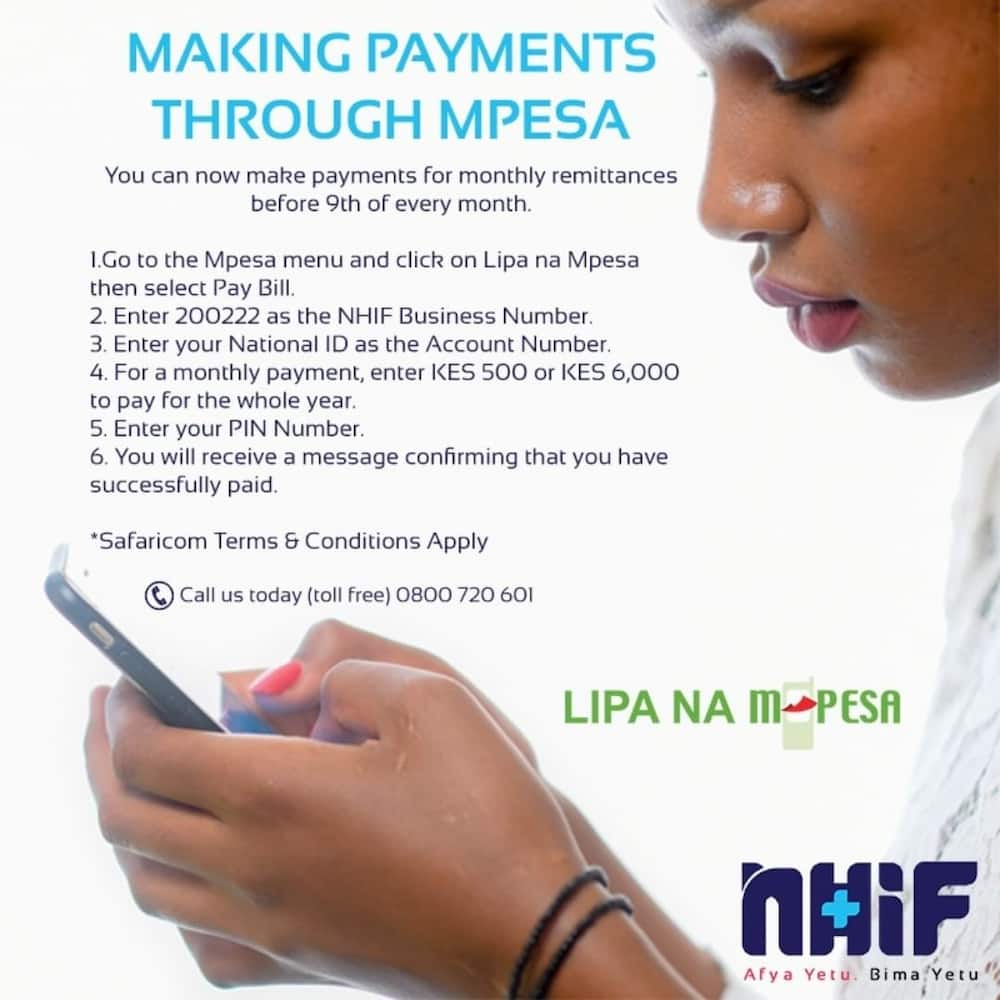 NHIF portal: Login, registration, covers, card status