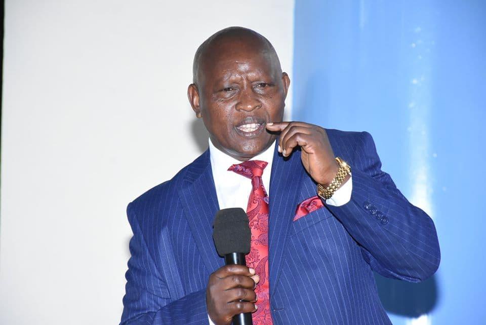 Nyeri Governor Mutahi Kahiga under fire for erecting pit latrine billboard with his portrait
