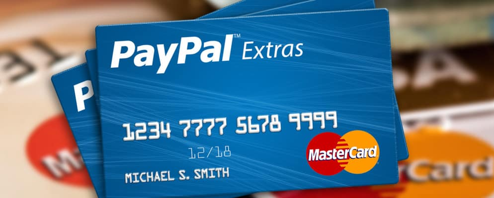 How to activate PayPal MasterCard credit card