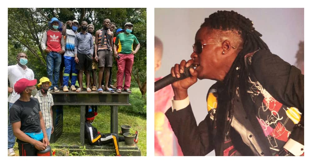 Gun salute burial for dancehall maestro Soul Jah Love, who predicted his death