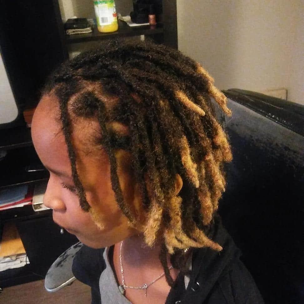 simple dreadlock hairstyles