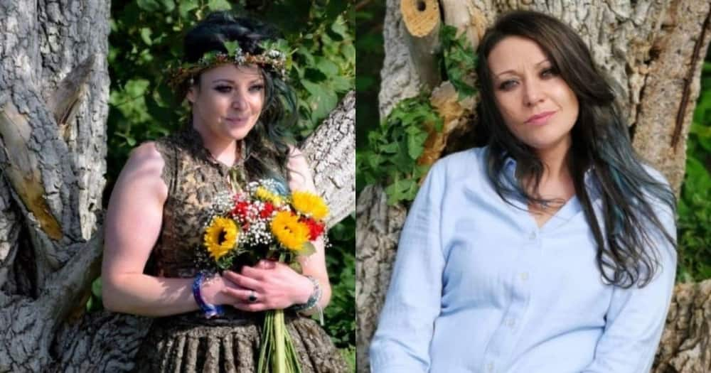 Woman married to tree, celebrates 1st wedding anniversary