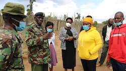 Fact Check: Photo Said to Be of Caroline Kangogo Surrendering to Police Is False