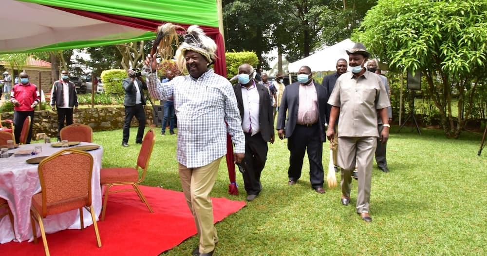 Section of Luhya elders endorse Musalia Mudavadi's 2022 presidential bid