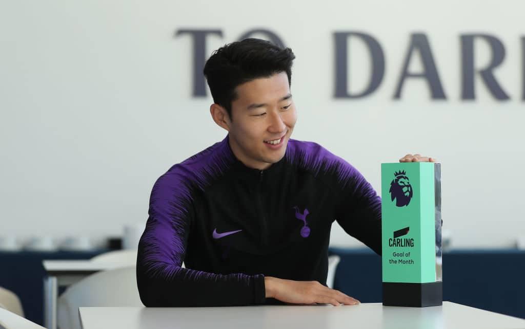 Tottenham star Son win Premier League Goal of the Month of November