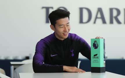 Tottenham star Heung Min Son win Premier League Goal of the Month of November
