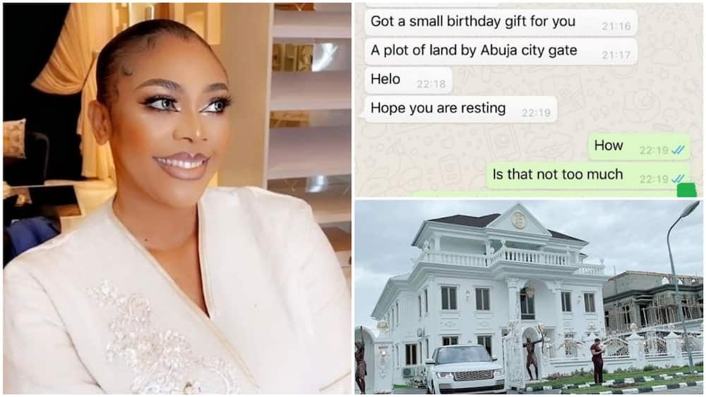 Lady who gifted herself a mansion for her 35th birthday, receives Abuja land gift